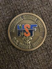 Us Coast Guard Nsf ~National Strike Force~ Challenge Coin