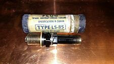 NOS Military Aircraft AC Spark Plugs LS-85 for WWII B-17F Flying Fortress Bomber