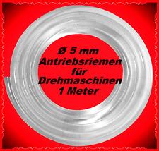 1 metros, Ø 5mm, correas de transmisión, banco de rotación, 3 Unimat, EMCO unimat sl, ** Belt for Lathe **