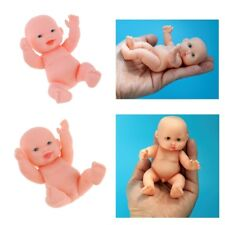 2Pcs Handmade Lifelike Baby Boy Doll Newborn Kids Gift Emulated Dolls