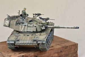 Pro-built 1/35 Meng Israel IDF Magach 6B Gal MBT tank TS044