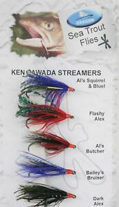 Dragon Ken Sawada Streamers / Sea Trout Sewin / Fly Fishing