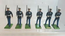 6 Britains Toy Soldiers- Us Marines (155)