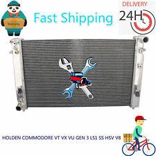 Full Aluminum Radiator fit V8 HOLDEN COMMODORE VT VX VU GEN 3 LS1 SS HSV