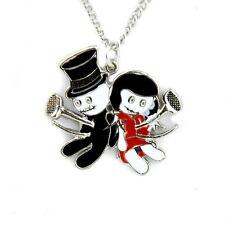 Until Death Voodoo Dead Doll Pendant Necklace Gothic Deathrock Love Rockabilly