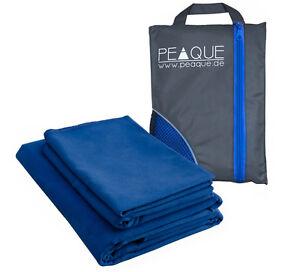 3er Set Microfibre Towels + Case, Hand Towel, Sauna Towel, Bath Towel Microfibre
