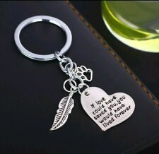If I Could Of Saved You You Would Live Forever Pet Dog Keychain Keyring Memorial