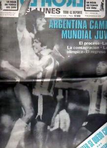MARADONA - FIFA WORLD YOUTH CUP 1979 Argentina Champion - La Hoja # 50 newspaper