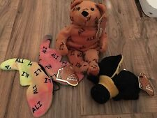 MUHAMMAD ALI SALVINOS BAMMERS SET OF 3 BAMMERS BUTTERFLY BEE AND BEAR