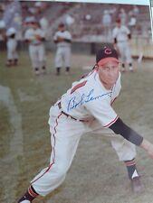 """Baseball Legend BOB LEMON (deceased) 8"""" X 10"""" photo with COA - Buy It Now!!!"""