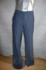 Trousers Clothing Olly Gan Pantalones Pant Size 42 New US W 32 Wool and Linen