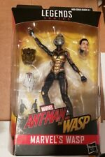 """Marvel Legends Wasp Action Figure  6"""" Poseable Toy with Cull Obsidian Head"""