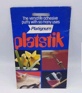 Platignum Platstik Versatile Adhesive Putty Blue Tac Blu Tack School Office Use