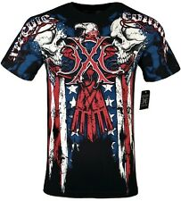 XTREME COUTURE by AFFLICTION Men T-Shirt COUTURE PATRIOT Tatto Biker MMA S-4X$40