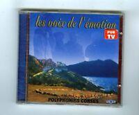 CD (NEW) CORSICA POLYPHONIES CORSES LES VOIX DE L'EMOTION