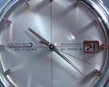 24 Jewels Crystal Clear—Original Owner Seiko Self-Winding Self-Dater Dia Shock