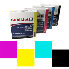 Sublimation Ricoh GX3300 A4 Printer Ink Cartridges -For Ricoh Printers A4 600ml