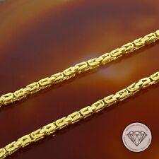 Wert 2.380,- Kurze Königs Kette In 750 Gelbgold 24,8 Gramm 39 cm