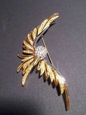 Joan Rivers Classics Collection Large Flying Dove Brooch/Pin Older Design