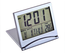 Reloj Digital Lcd con Termostato y Alarma