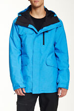 QUIKSILVER CRAFT 15 JACKET SNOWBOARD 10K DRY FLIGHT MENS BLUE MENS SIZE MEDIUM