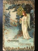 Vintage Postcard>1907-1915>Christmas Greetings