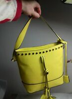 ladies  yellow  fashion handbag