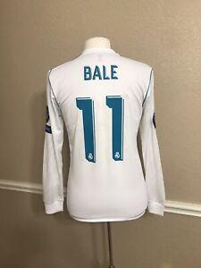 Real Madrid CL Kiev Bale Wales Player Issue Shirt Adizero Football Adidas Jersey