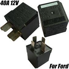 1x FoMoCo 4-Pin Black Relay 40A 12V Ford Transit Mondeo Galaxy 6G9T-14B192-CA