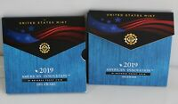 2019 S American Innovation Delaware Reverse Proof Dollar Coin US Mint Packaging