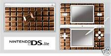Nintendo DS or DS Lite CHOCOLATE BAR Sticker Decal