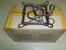 1 DZ Duke 120 Double Spring Body Gripper Traps Trap Muskrat Mink 0410 (Dozen)