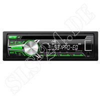 JVC KD-R453 Autoradio CD Tuner mit MP3 USB Aux-In Radio grüne Displayb. KD-R453E