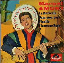 MARCEL AMONT FLAMENCO ROCK FRENCH ORIG EP CLAUDE ROMAT