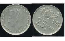 ESPAGNE  25 pesetas 1980 ( 82 )  ( bis )