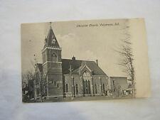 Christian Church, Valparaiso, Ind. 1908 Post Card (GS19-44)