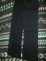 A NEW DAY Women's Black Stretch Pants Size 2 (C24)