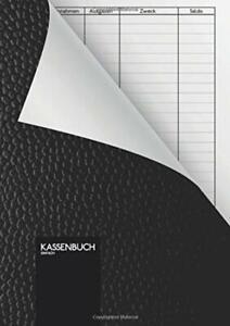 Kassenbuch - Einfach: 110 Seiten DIN A5 Einfaches Einnahmen-Ausgaben Buch