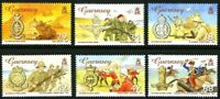 GUERNSEY 16 FEB 2006 150 YEARS OF VICTORIA CROSS ALL 6 COMMEMORATIVE STAMPS MNH