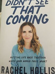 Didn't See That Coming by Rachel Hollis (Hardcover – September 29, 2020)