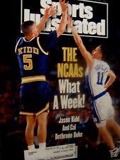 1993 Sports Illustrated Jason Kidd-California-Duke-Bobby Hurley-Original VG