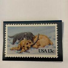 Scott # 2025 1982 Christmas Issue 20 Cent Stamp- MNH