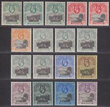St Helena 1912 King George V Set Mint SG72-81 cat £150+