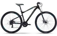 Haibike Seet HardNine 1.0 Mountainbike Fahrrad schwarz/anthrazit/cyan 2017 RH 45