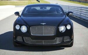 Bentley Continental Gt Chrome Front Bumper Grill Set