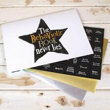 The Bright Side Daily Children Behaviour Reward Chart Book Star Stickers