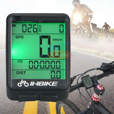 Wireless Waterproof Digital Cycling Bike Bicycle Computer Speedometer Odometer