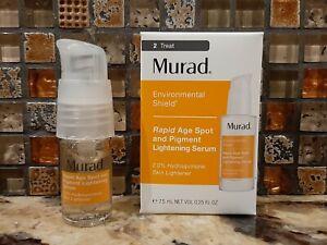 MURAD Rapid Age Spot & Pigment Lightening Serum 0.25oz TRAVEL SIZE NIB EXP 4/22