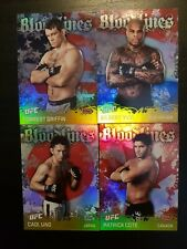 Topps ufc 2010 Series 4 Bloodlines inserts Lot