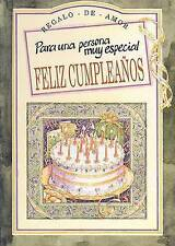 USED (VG) Para una persona muy especial-Feliz cumpleaños by Helen Exley